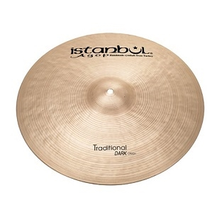 Istanbul Agop Traditional Dark Crash 22""
