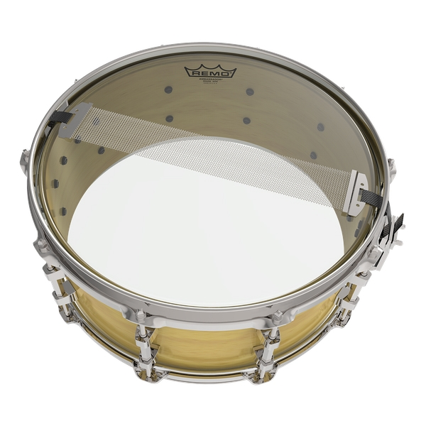 Remo Ambassador Clear Hazy Snare Side 16""