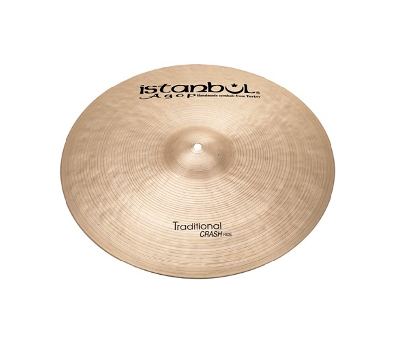 Istanbul Agop Traditional Crash Ride 22""