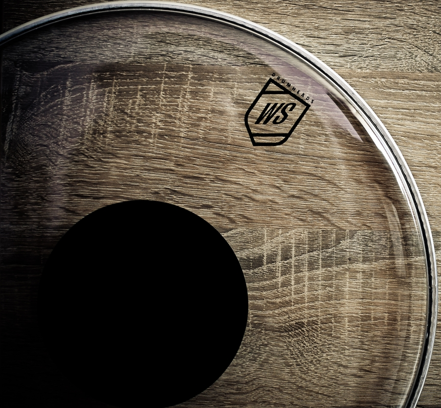 WS Drumheads Clear Dot 16""