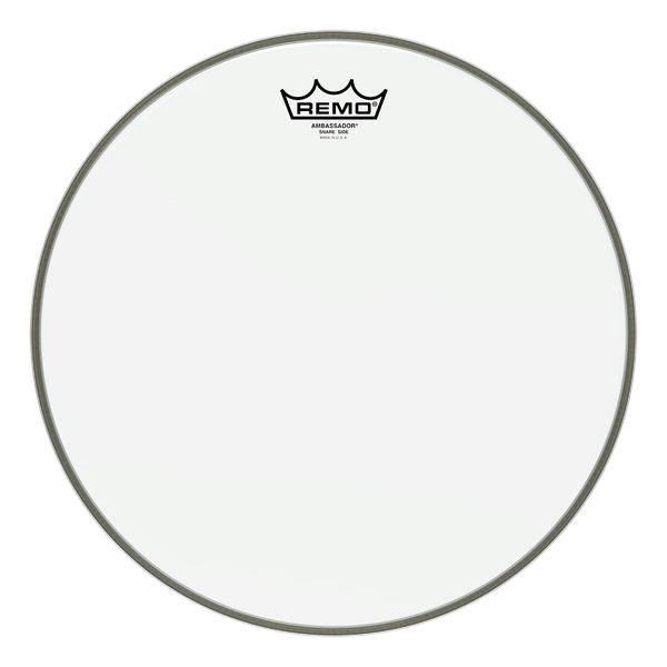 Remo Ambassador Clear Hazy Snare Side 13""