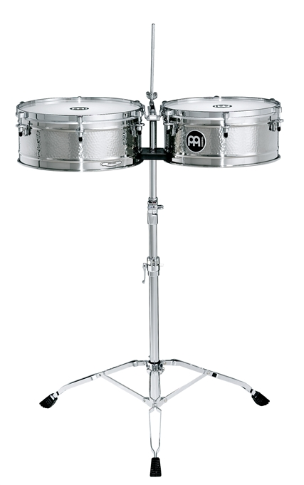 Meinl Timbales Luis Conte stalowe