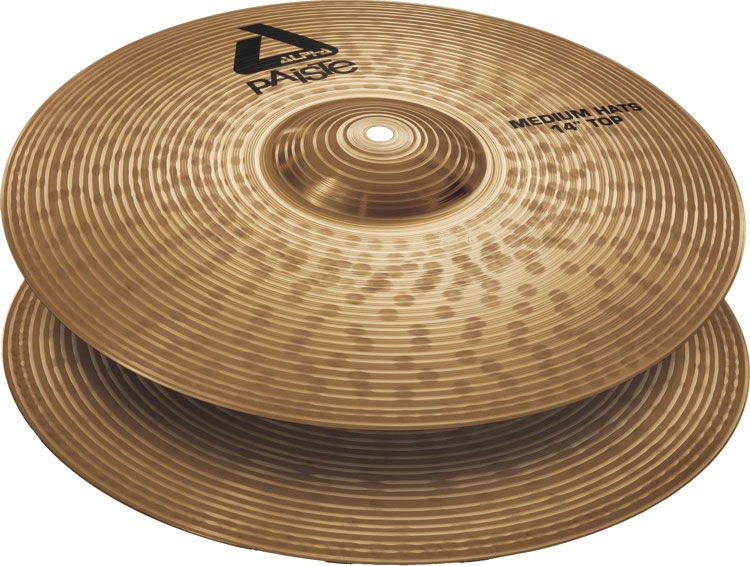 Paiste Alpha Brilliant Medium Hi-Hat 14""
