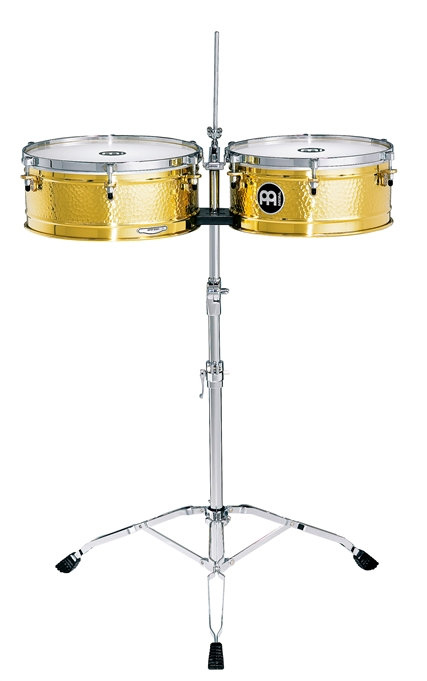 Meinl Timbales Luis Conte mosiężne