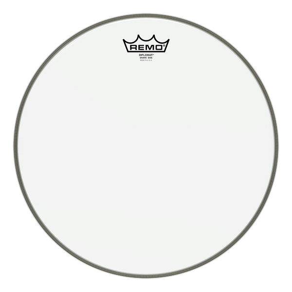 Remo Diplomat Clear Hazy Snare Side 15""