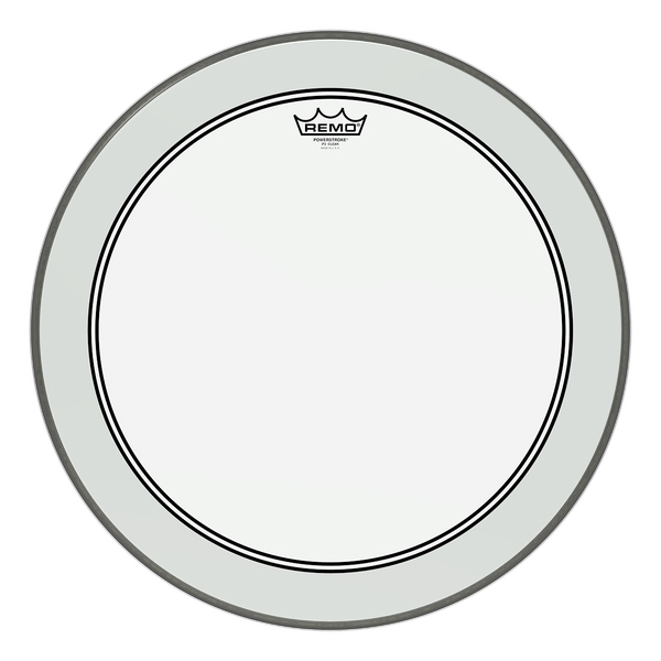 Remo Powerstroke 3 Clear 6""