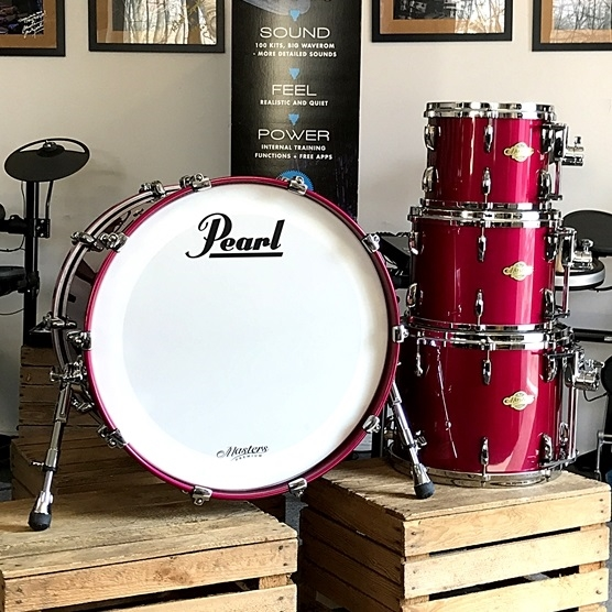 Pearl Masters Premium Maple 22,10,12,14