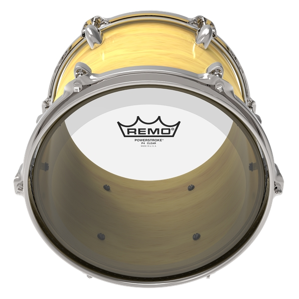 Remo Powerstroke 4 Clear 10""