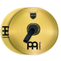 Meinl Marching Brass Cymbals Medium 18""