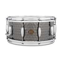 "Gretsch Full Range Hammered Steel Stal 14""x6.5"""
