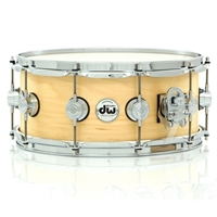 "DW Collectors Maple 14x6"" Satin Natural"