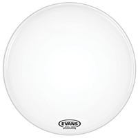 Evans Bass EQ1 Coated White 20""