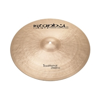 Istanbul Agop Traditional Crash Ride 20""