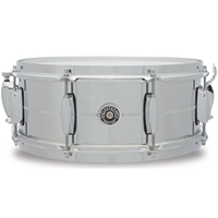 "Gretsch USA Brooklyn Chrome over Steel 14""x6.5"""