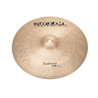 Istanbul Agop Traditional Dark Crash 16""