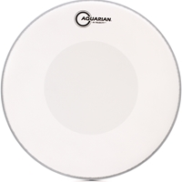 Aquarian Hi-Velocity Coated White 13""