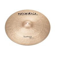 Istanbul Agop Traditional Dark Crash 17""