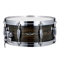 "Tama Star Solid Charcoal Zebrawood 14""x6"""