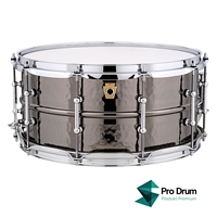 "Ludwig Black Beauty Hammered 14""x6,5"""