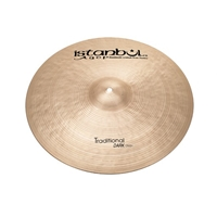 Istanbul Agop Traditional Dark Crash 14""