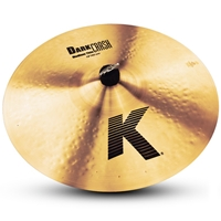 Zildjian K Dark Crash Medium Thin 17""