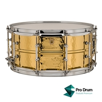 Ludwig Hammered Brass 14X6,5 LB422BKT