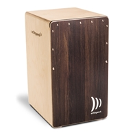 Schlagwerk Cajon 2inOne Dark Oak Soft Touch